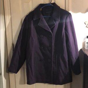 Centigrade Jackets & Coats - Purple Peacoat